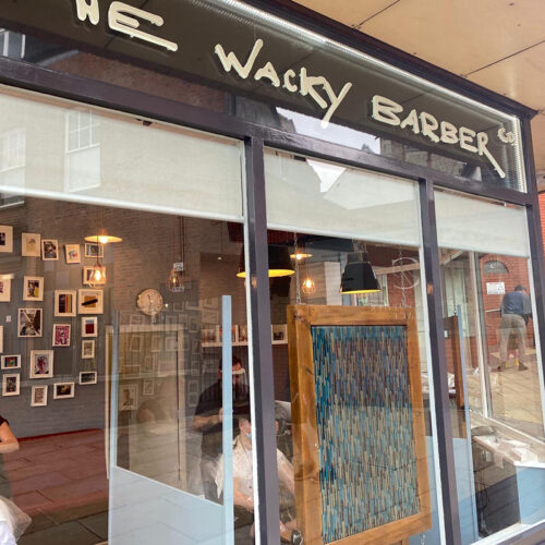 The Wacky Barber st albans shop